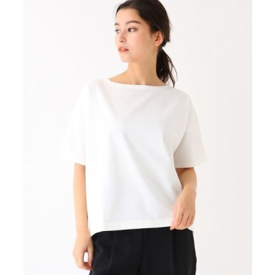 DRESSTERIOR / ドレステリア 【洗える】ドロップショルダー度詰め天竺Tシャツ