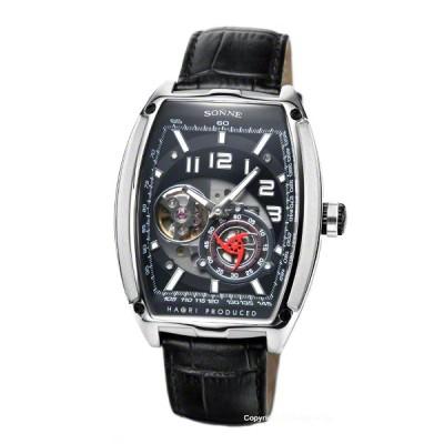 ゾンネ 時計 SONNE メンズ 腕時計 ゾンネ×ハオリ 岩城滉一 コラボレーションモデル N029SS-BK