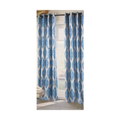 Sandy Wilson Ikat Collection Curtain Panel, 100-Inch by 95-Inch
