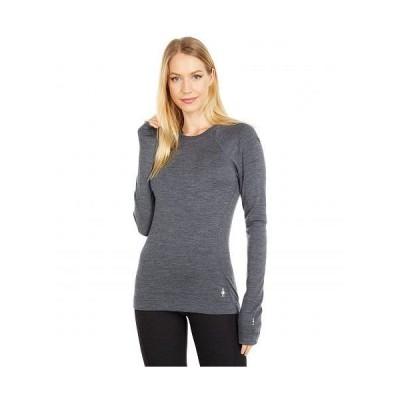 Smartwool スマートウール レディース 女性用 ファッション アクティブシャツ Merino 250 Base Layer Crew - Medium Gray Heather