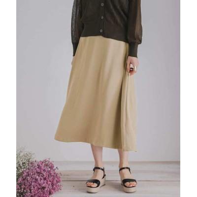 SENSE OF PLACE by URBAN RESEARCH / フレアロングスカート WOMEN スカート > スカート