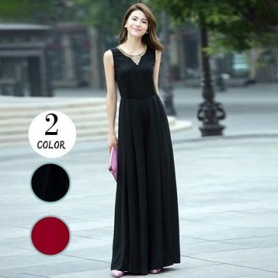即納 お洒落な上質 韓国ファッション パーティードレス パンツ 結婚式 二次会 パンツドレス 結婚式ドレス お呼ばれドレス 20代 30代 40代 ロングドレス 黒 赤 a0878