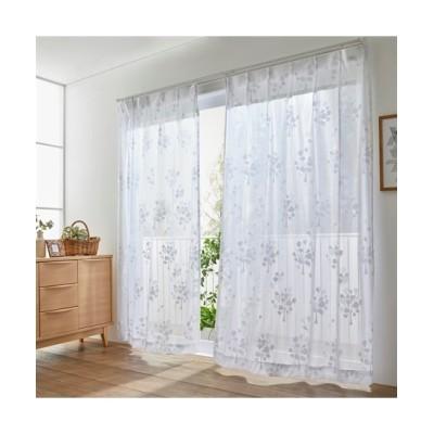 【Plune.】一目見て可愛いと感じる!ハートツリー柄ミラーレースカーテン レースカーテン・ボイルカーテン, Curtains, sheer curtains, net curtains(ニッセン、nissen)