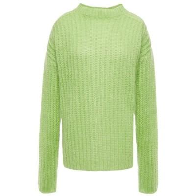 マルニ MARNI レディース ニット・セーター トップス oversized ribbed mohair-blend sweater Light green