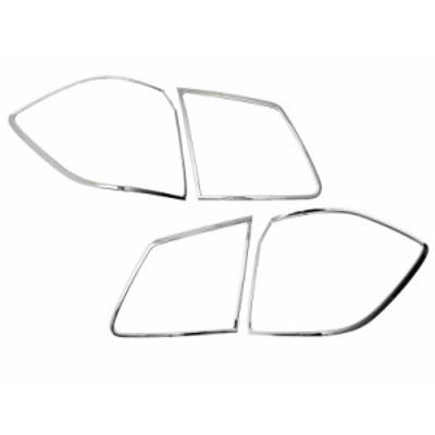 メルセデスベンツ GLクラス X166用 クローム メッキ リアランプリム テールライト トリム ベゼルカバー【新品/送料込み】