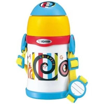 象印 ステンレスクールボトル ストロータイプ ST-ZH45S EW 450ml しましまぐるぐる 水筒 ボトル