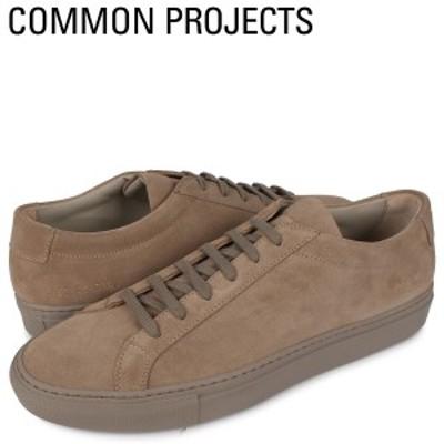 コモンプロジェクト Common Projects アキレス ロー スエード スニーカー メンズ ACHILLES LOW SUEDE ブラウン 2252-0240