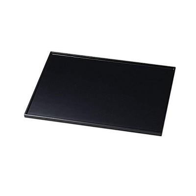越前塗 越前漆器 尺3長角膳 黒 サイズ:約39.7×28.8×1.3cm 材質:木製、漆塗、手塗