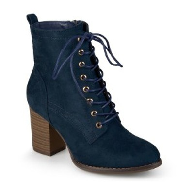 ジャーニーコレクション レディース ブーツ&レインブーツ シューズ Women's Baylor Bootie Blue