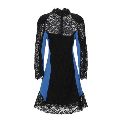 ピンコ PINKO ミニワンピース&ドレス ブラック 40 コットン 98% / ナイロン 2% / ポリエステル / ポリウレタン ミニワンピース