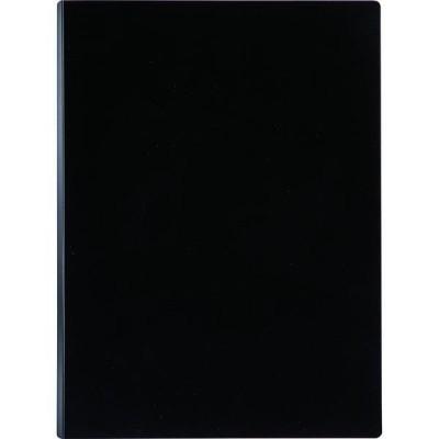 セキセイセキセイ A4クリップファイル縦 マグネプラス ブラック ACT-5924-60 2冊(直送品)
