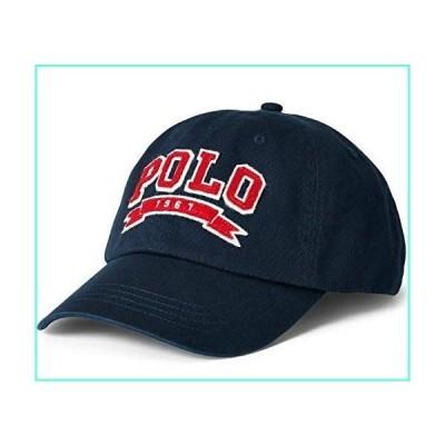 Ralph Lauren Mens Polo Sports Pony Logo Hat Cap (One Size, Navy Aviatr red)並行輸入品