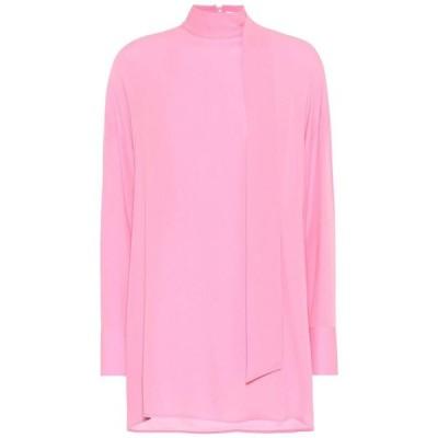 ヴァレンチノガラヴァーニ Valentino / Garavani レディース ブラウス・シャツ トップス mockneck silk blouse