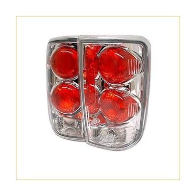 テールライト Spyder Auto 5001153 Euro Style Tail Lights Chrome/Clear 並行輸入品