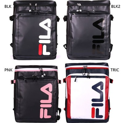 22L フィラ メンズ レディース スクエア リュックサック デイパック バックパック バッグ 鞄 A4 撥水 通勤 通学 旅行 FM2173L