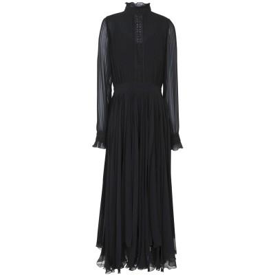 POLO RALPH LAUREN 7分丈ワンピース・ドレス ブラック 0 ポリエステル 100% 7分丈ワンピース・ドレス