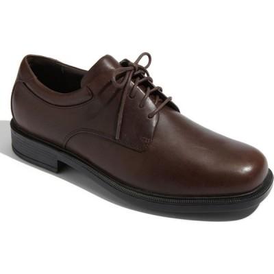 ロックポート ROCKPORT メンズ 革靴・ビジネスシューズ シューズ・靴 'Margin' Oxford Chocolate Leather