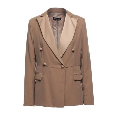 VANESSA SCOTT テーラードジャケット キャメル S ポリエステル 100% テーラードジャケット