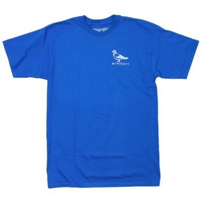 ANTI HERO Tシャツ ブルー  BASIC PIGEON BLUE