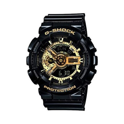 Casio Men's Watch Ga-110Gb-1 BLACK AND GOLD LIMITED EDITION