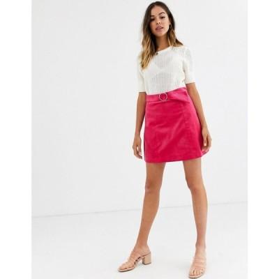 グラマラス Glamorous レディース ミニスカート スカート corduroy mini skirt