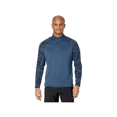 アディダス Camo Hybrid Recycled Polyester Sweatshirt メンズ シャツ トップス Navy