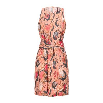 マニラ グレース MANILA GRACE ミニワンピース&ドレス ローズピンク 42 コットン 97% / ポリウレタン 3% ミニワンピース&ド