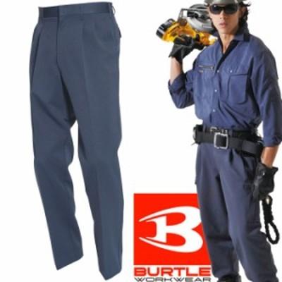 BURTLE バートル 秋冬 作業服 9003-30 ポリツイル ツータックパンツ ウッズ (70~100) 作業着 9001シリーズ