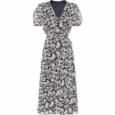 ラルフ ローレン Polo Ralph Lauren レディース ワンピース ワンピース・ドレス Floral crepe de chine dress Navy Floral