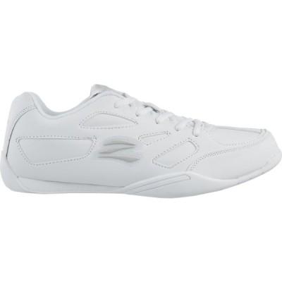ゼフス スニーカー シューズ レディース Zephz Women's Zenith Cheerleading Shoes White