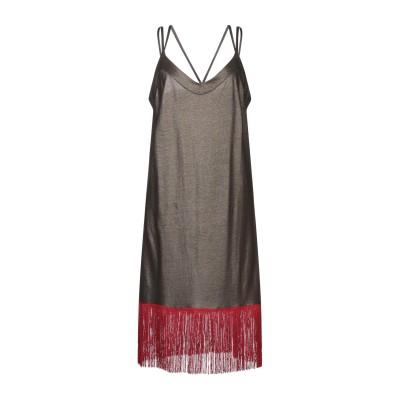ジジル JIJIL ミニワンピース&ドレス ダークブラウン 42 コットン 100% ミニワンピース&ドレス
