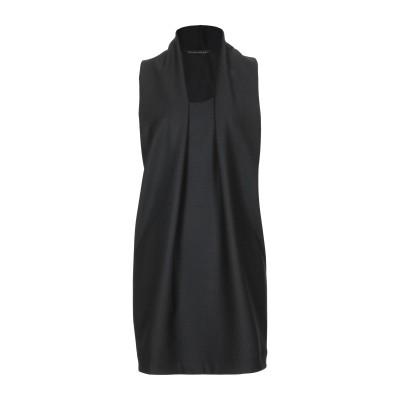 ブライアン デールズ BRIAN DALES ミニワンピース&ドレス ブラック 42 ポリエステル 53% / ウール 43% / ポリウレタン 4