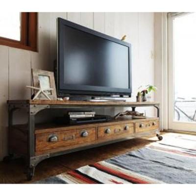 西海岸テイストヴィンテージデザインリビング家具シリーズ Ricordo リコルド リビングボード 幅150