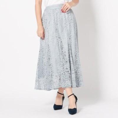 【NEW】ミッシュ・マッシュ(MISCH MASCH)/レースロングマーメイドスカート