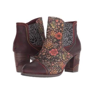 スプリングステップ L'Artiste by Spring Step レディース ブーツ シューズ・靴 Melvina Bordeaux Multi