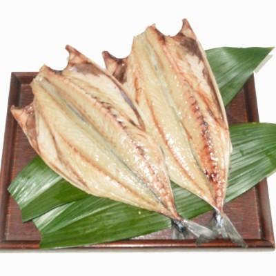 鯖(トロサバ)の塩干しの干物2枚入り 一枚うりでランキング受賞歴のあるさばのひもの 送料込みの詰め合わに追加にもおすすめの人気商品