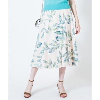 スカート リーフジャガードスカート