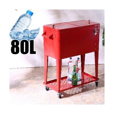 クーラーボックス 大型 80l ローリングクーラー キャスター付き 業務用 冷却 ボックス 送料無料 屋外