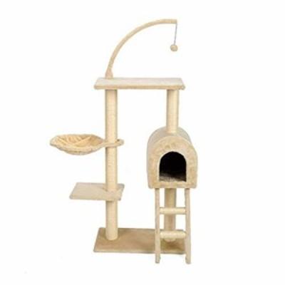 階段アパート猫の木のスプーンの形ハンモックマルチプラットフォーム快適な(中古品)