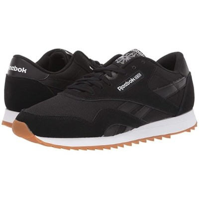 リーボック Classic Nylon Ripple MU メンズ スニーカー 靴 シューズ Black/White/Grey/Gum