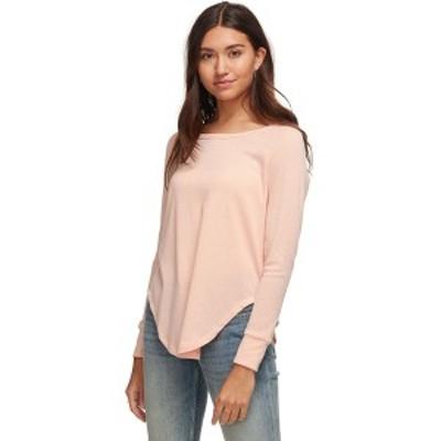 ベイスンアンドレンジ レディース カットソー トップス Breeze Waffle Long-Sleeve Shirt - Women's Blush Pink