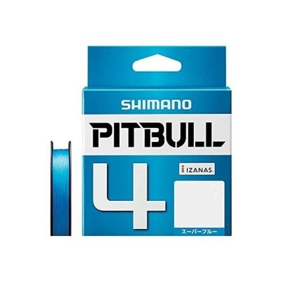 シマノ(SHIMANO) PEライン ピットブル 4本編み 200m 0.5号 スーパーブルー 10.3lb PL-M64R 釣り糸
