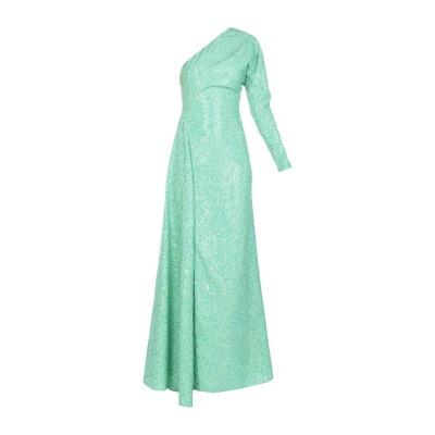 アレッサンドラ・リッチ ALESSANDRA RICH ロングワンピース&ドレス グリーン 40 ポリエステル 100% ロングワンピース&ドレス