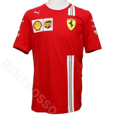PUMA スクーデリア フェラーリ チーム Tシャツ 2020 レッド 763033-01