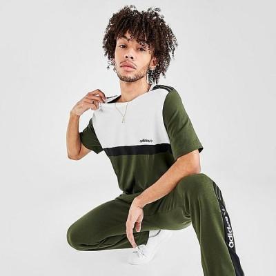 アディダス オリジナルス メンズ Tシャツ adidas Originals Nutasca ZX T-Shirt 半袖 Night Cargo/Black