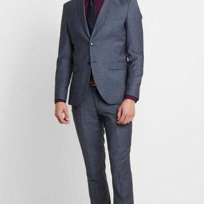 メンズ スーツ SLHSLIM MYLOBILL LT SUIT - Suit - light blue