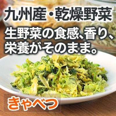 乾燥野菜 キャベツ 安心 安全 国産野菜【メール便対応】
