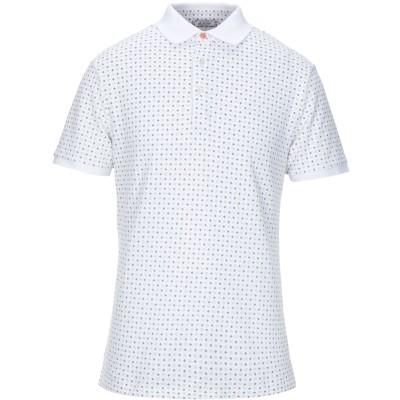 アティピコ AT.P.CO ポロシャツ ホワイト S コットン 100% ポロシャツ