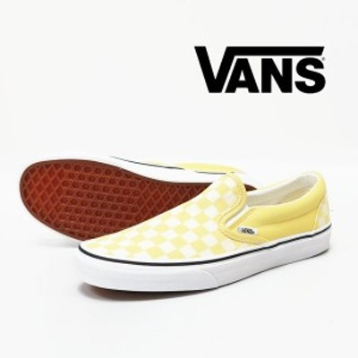 VANS バンズ CLASSIC SLIP-ON チェッカー ゴールデン スニーカー シューズ ヴァンズ  vn-0a4u38wrz
