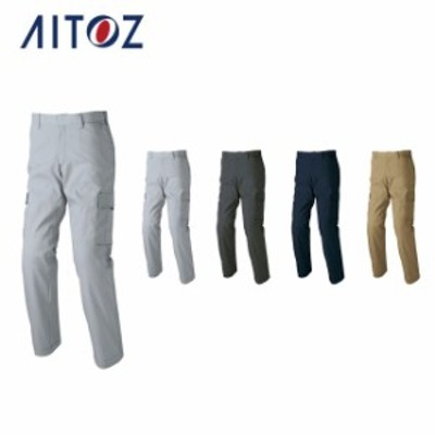 AZ-60321 アイトス ストレッチカーゴパンツ(ノータック)(男女兼用) | 作業着 作業服 オフィス ユニフォーム メンズ レディース